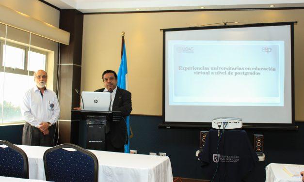 Intercambio de experiencias de Educación Virtual de Postgrados en Guatemala
