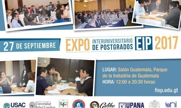 Gran EXPO Interuniversitaria de Postgrados (EIP)